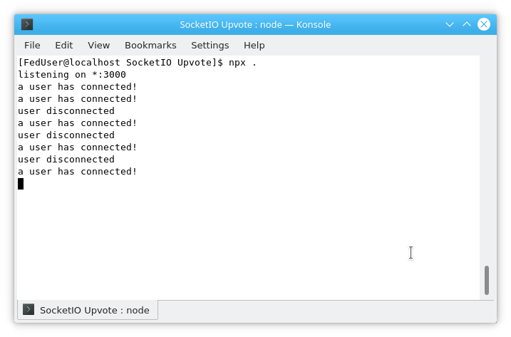 Introduction to Sockets IO in Node - GeeksforGeeks