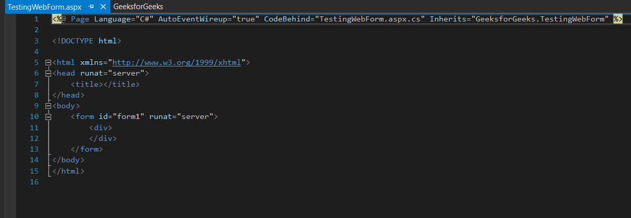 default-web-form-code