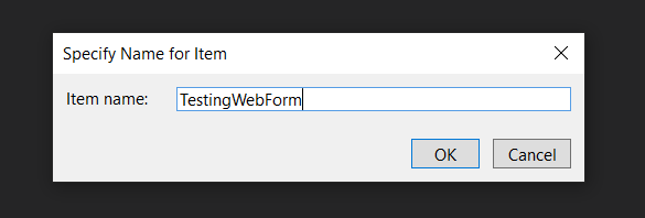 naming-web-form