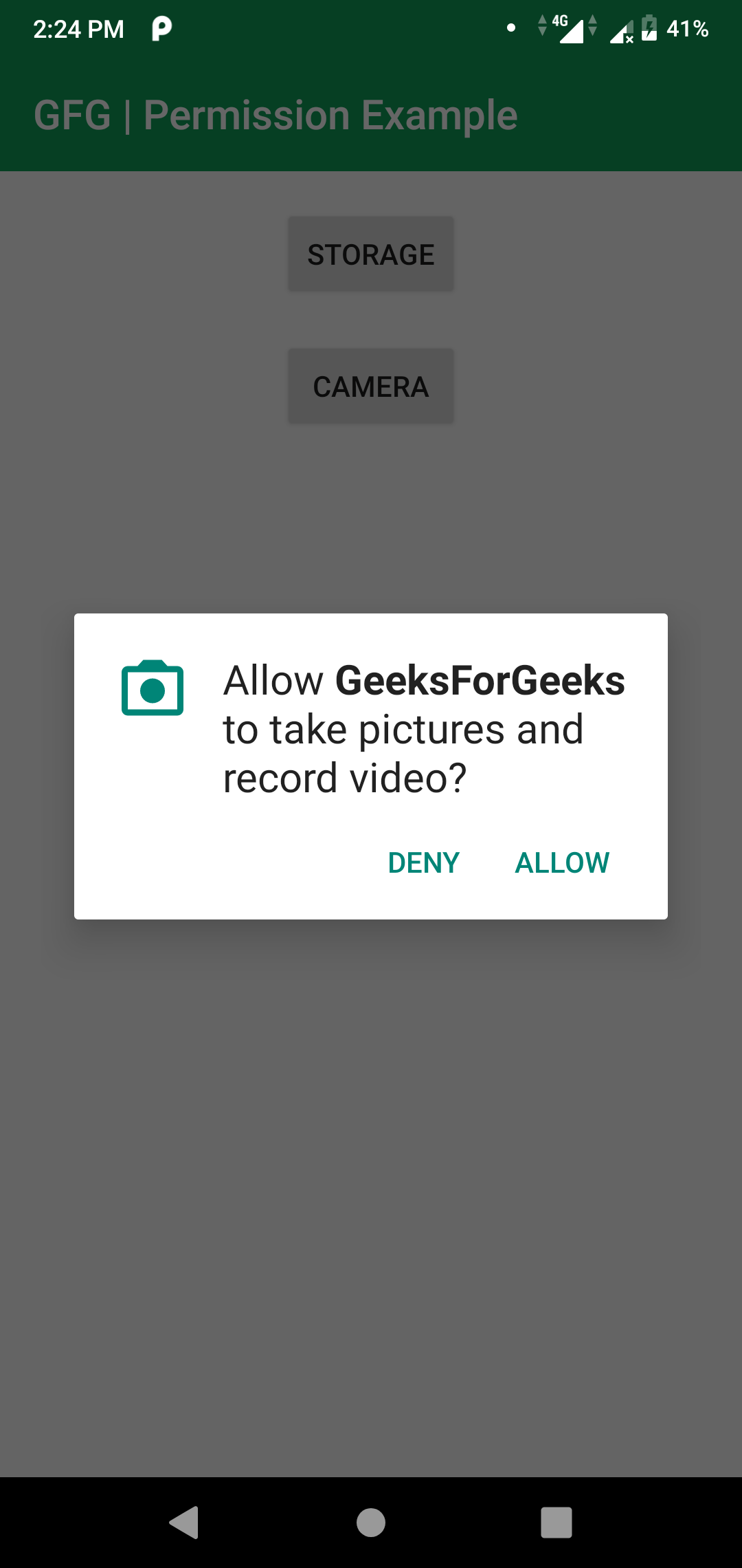 Android Permission Write_External_Storage android | how to request permissions in android application