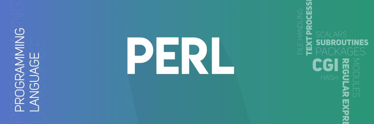 Perl Programming Language - GeeksforGeeks