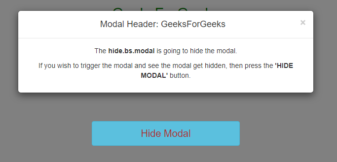 Bootstrap Modal Form Submit Ajax