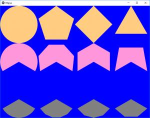 Python | Ellipse (different polygons) in Kivy - GeeksforGeeks