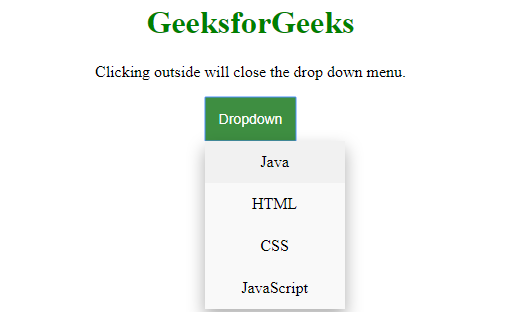 How to avoid dropdown menu to close menu items on clicking inside