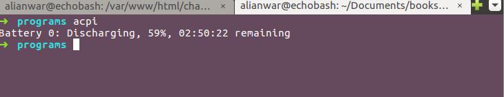 Bash Script to get Low Battery Alert in Linux - GeeksforGeeks