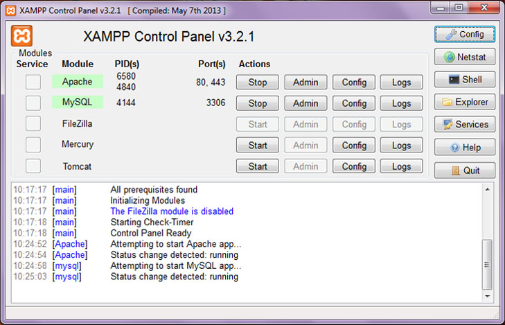 How to install XAMPP on Windows ? - GeeksforGeeks