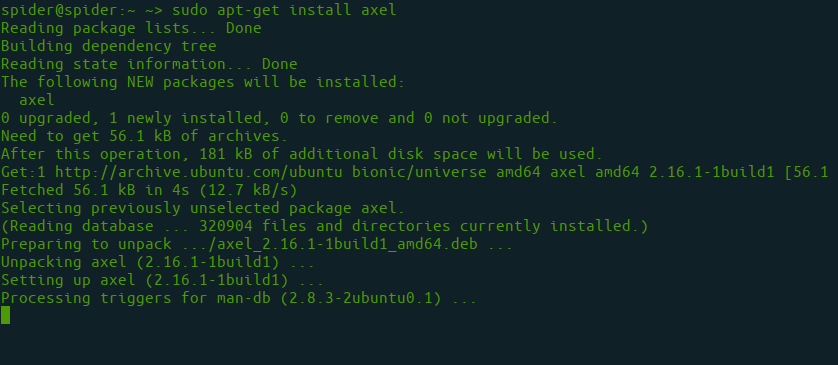 How to speed up the downloading of packages using apt-fast in Ubuntu