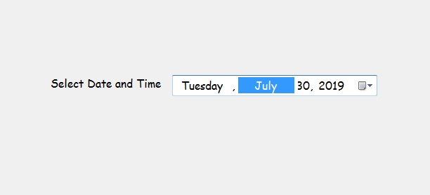 How to display Current Date/Time in the DateTimePicker in C