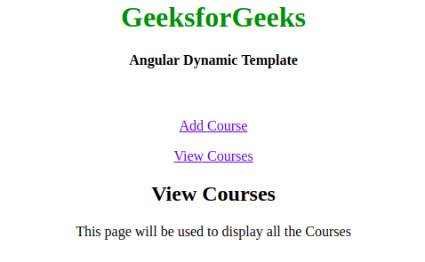 What are templates in AngularJS ? - GeeksforGeeks