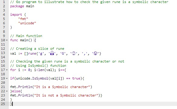 IsSymbol() Method