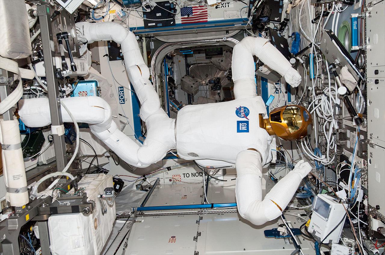 Robonaut-in-space