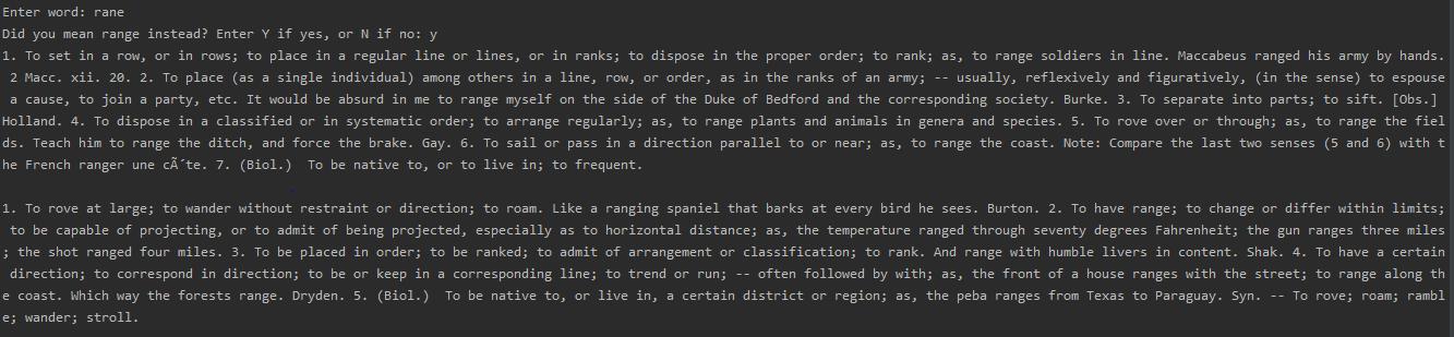 dictionary-python-script
