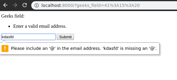 django-forms-emailfield