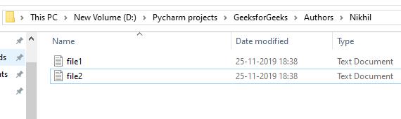 python delete file