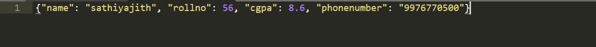 writing JSON to file using python 2