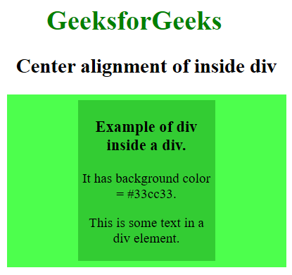 Image of Div placed at center within a div