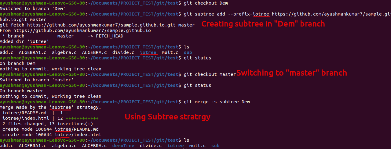 Subtree-Merge-Strategy-Example