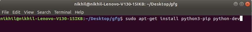 pip-installation-command