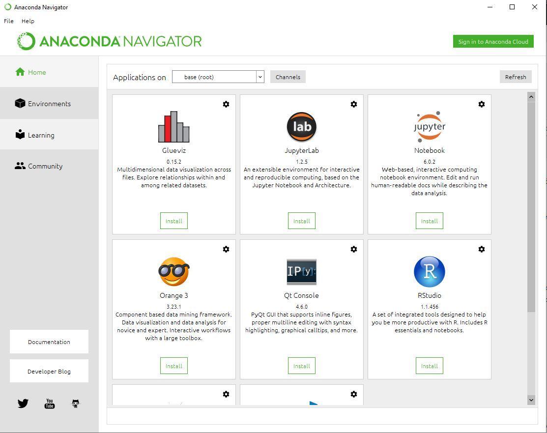 Anaconda-Navigator