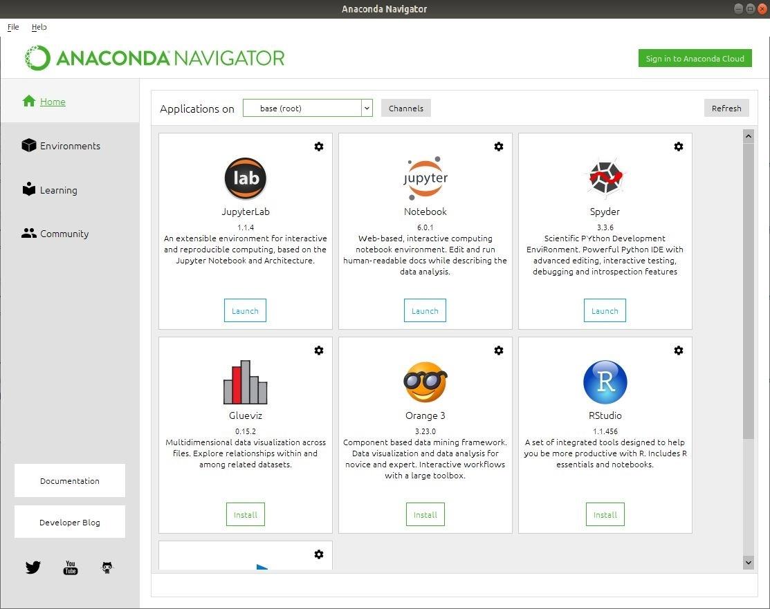 Anaconda-Navigator-in-Linux