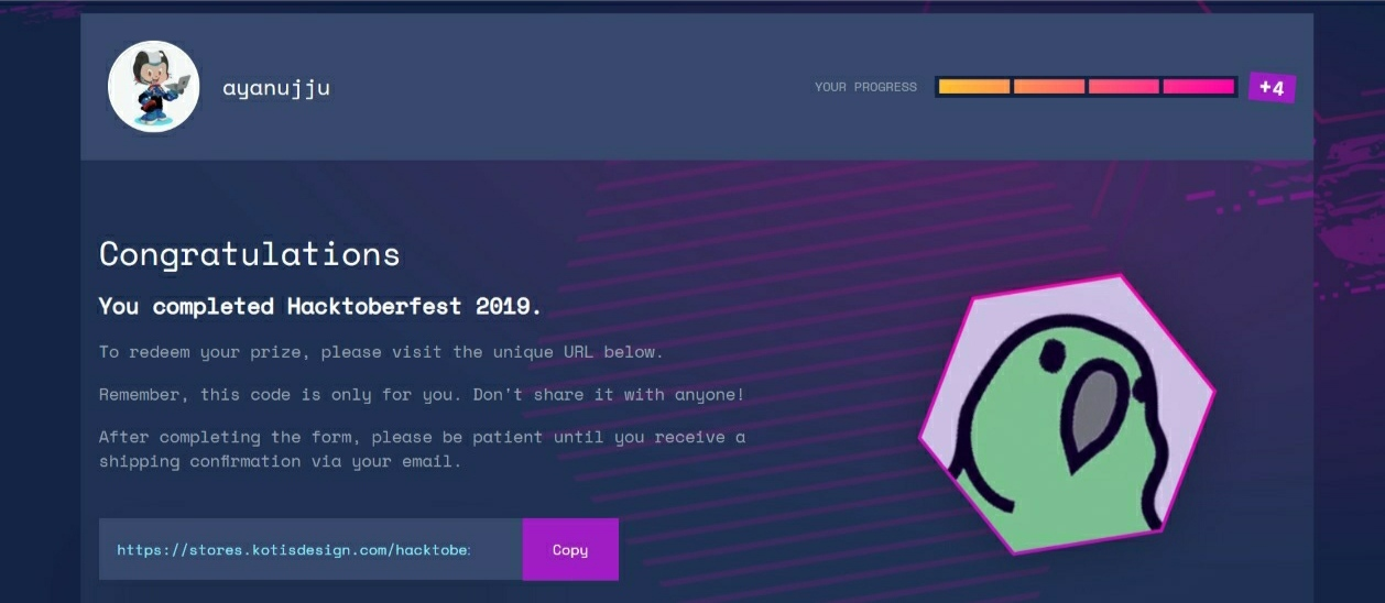 Hactoberfest Dashboard