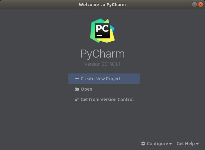 Finished Setting up PyCharm