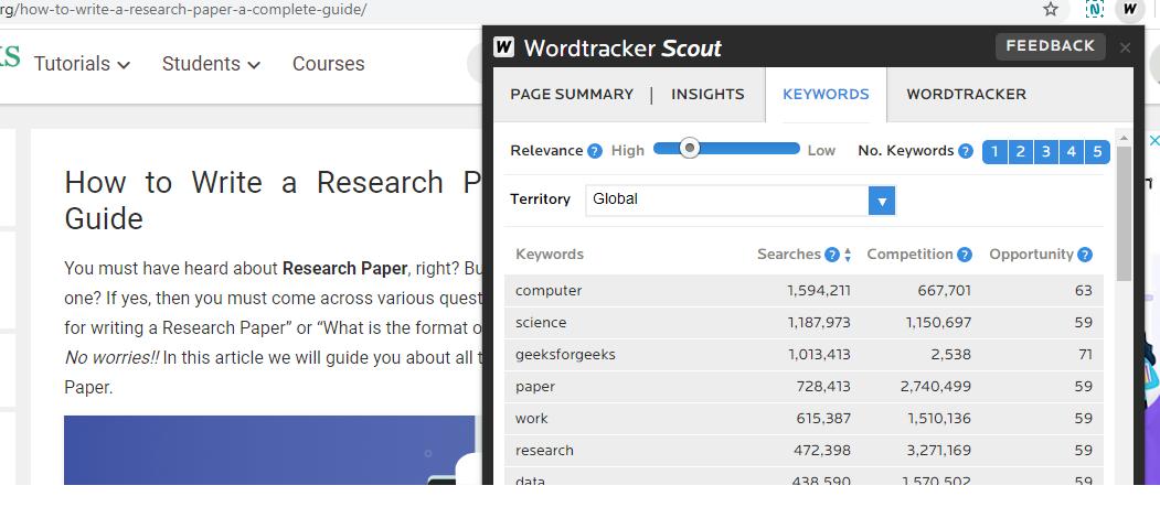 Wordtracker-Scout