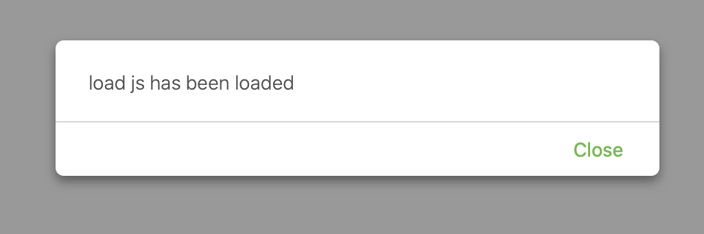 loaded loads file