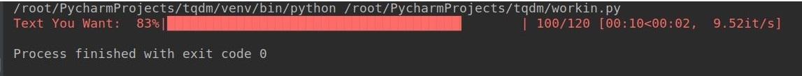 python-tqdm