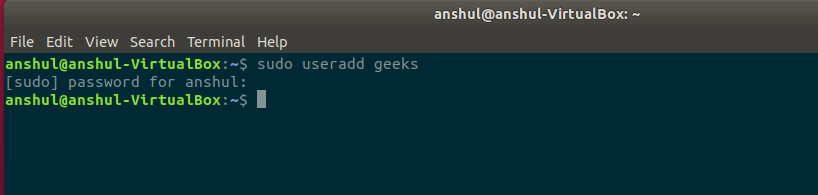 Adding-a-user-in-linux