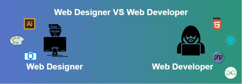 Difference Between Web Designer And Web Developer Geeksforgeeks