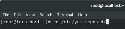 yum repository directory