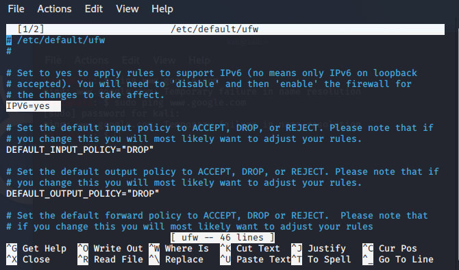 installing firewall in Linux - 1