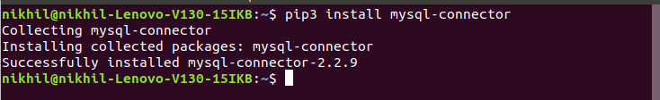 Installing-mysql-connector-Linux