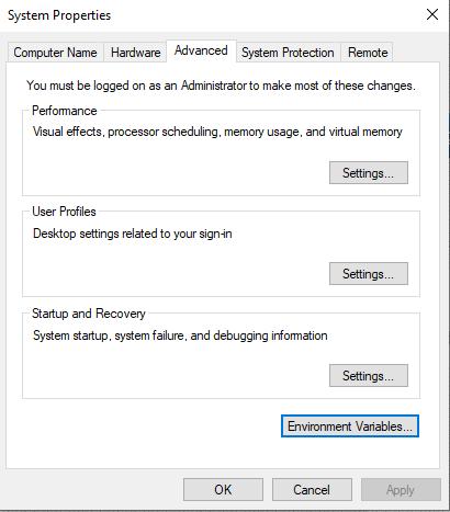 Add Python to Windows Path