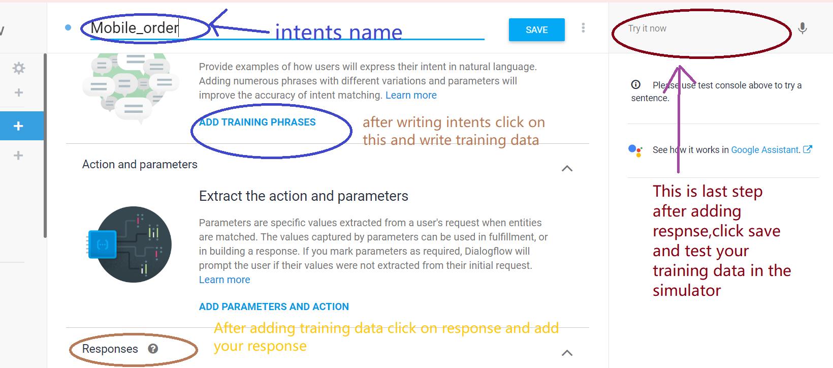 add training data