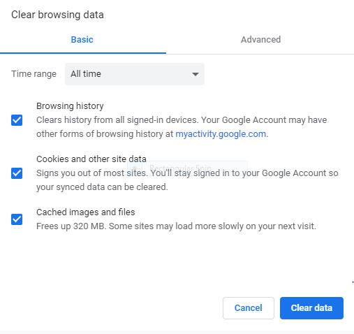 Deleting Google Chrome Browser History - 4