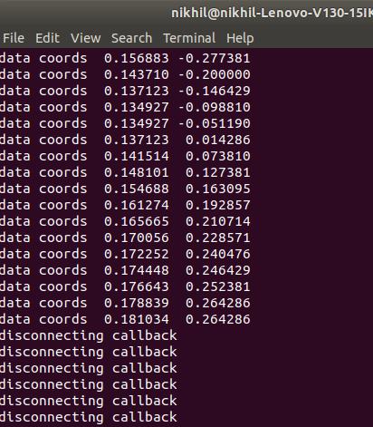 python-matplotlib-callback
