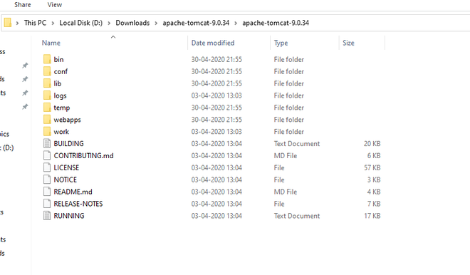 Extract files from zip folder