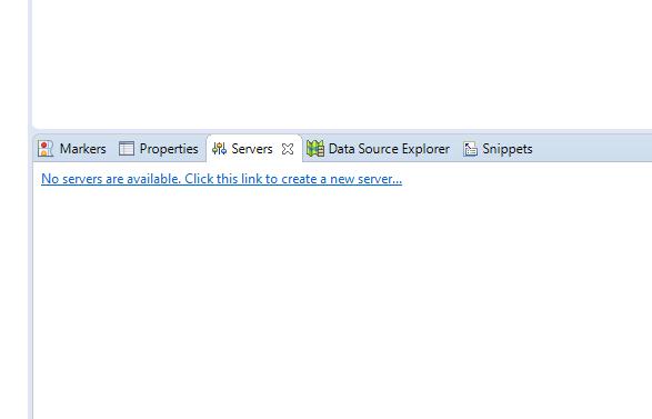 Open Eclipse Java EE