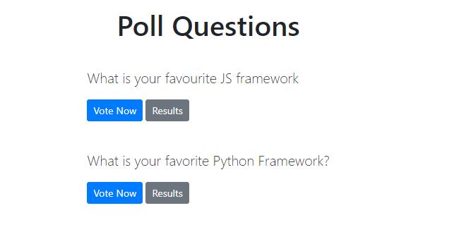 pollster-web-app