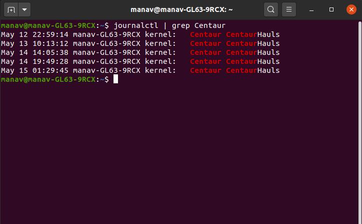 specific-keyword-journalctl-grep