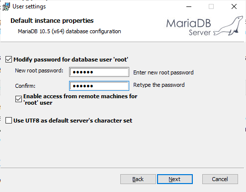 set-password-mariadb