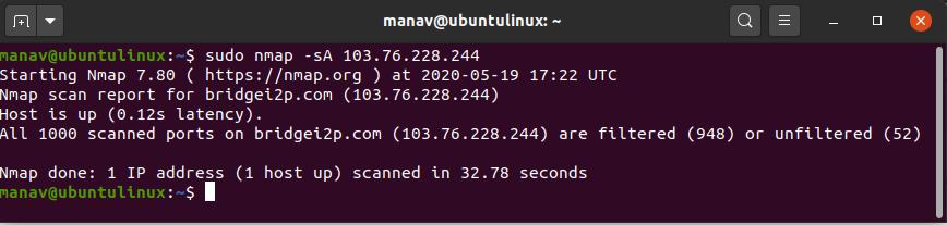 nmap-firewall-settings