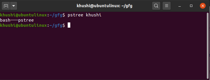 pstree-specific-to-user