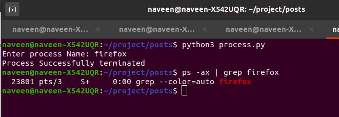 python-kill-process
