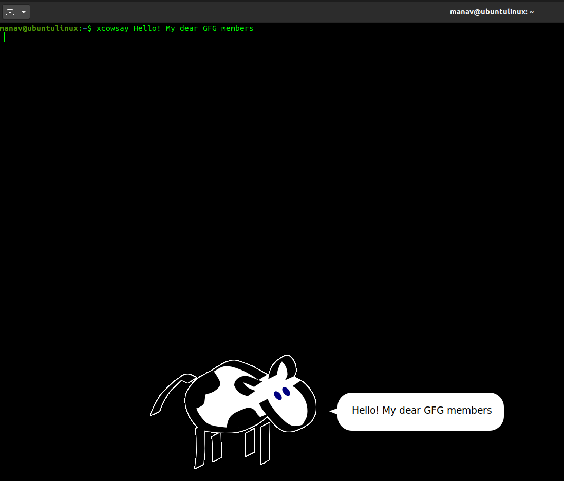 xcowsay-linux1