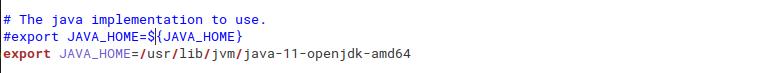 configuring hadoop-env.sh file