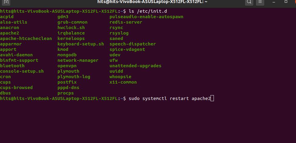 Restarting-service-in-linux