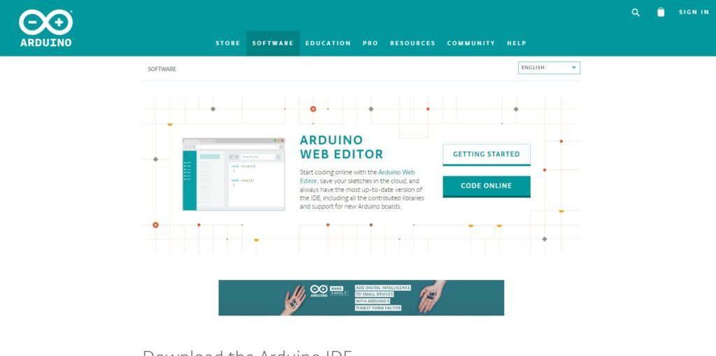 Download and Install Arduino IDE
